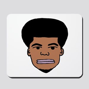 I'm Fro Real Mousepad