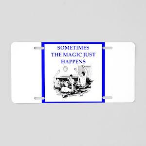 water polo joke Aluminum License Plate