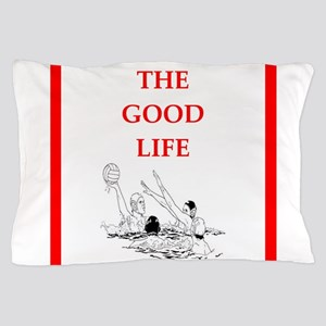 water polo joke Pillow Case