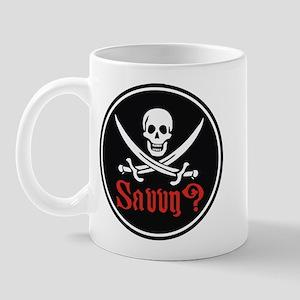 Savvy? Pirate Flag Mug