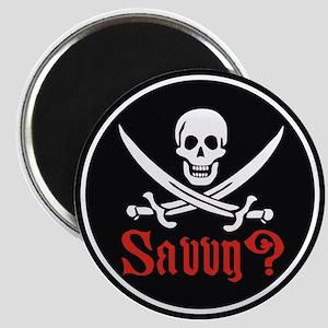 Savvy? Pirate Flag Magnet