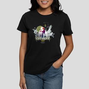 Taxi Off Duty Women's Dark T-Shirt