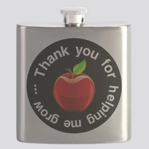 Teacher Apple Thank You Flask
