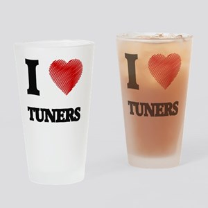 I love Tuners Drinking Glass