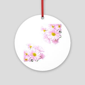 Daisies Round Ornament