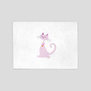 Sweet pretty Kitty 5'x7'Area Rug