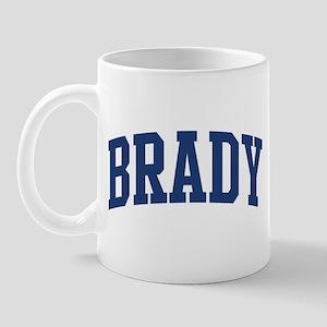 BRADY design (blue) Mug