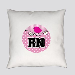 Nurse RN Birdie Everyday Pillow