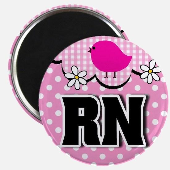 """Nurse RN Birdie 2.25"""" Magnet (10 pack)"""