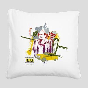 Taxi Louie De Palma Square Canvas Pillow