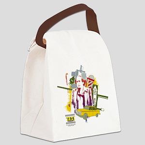 Taxi Louie De Palma Canvas Lunch Bag