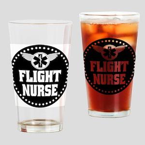 Flight Nurse Drinking Glass