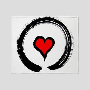 Zen Love Throw Blanket