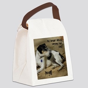 Smelled Something Canvas Lunch Bag