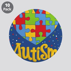 "autism awareness month 3.5"" Button (10 pack)"