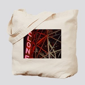 Cyclone Roller Coaster Tote Bag