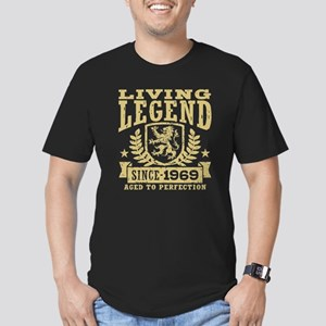 Living Legend Since 19 Men's Fitted T-Shirt (dark)