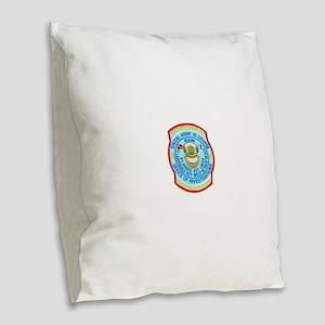 customsdive Burlap Throw Pillow