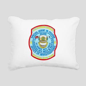 customsdive Rectangular Canvas Pillow