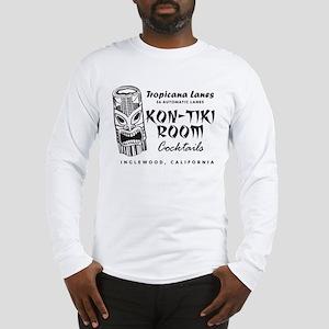 Inglewood, CA, Kon-Tiki Lounge Long Sleeve T-Shirt