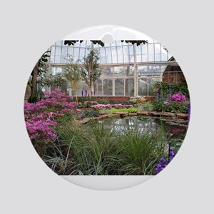 Greenhouse Beauty Round Ornament