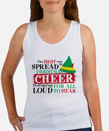 The Best Way To Spread Christmas Women's Tank Top