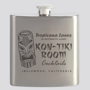 Inglewood, CA, Kon-Tiki Lounge Flask