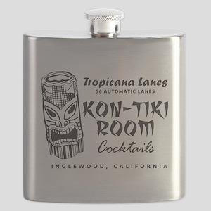 Inglewood, CA, Kon-Tiki Lounge Flask