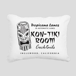 Inglewood, CA, Kon-Tiki Rectangular Canvas Pillow