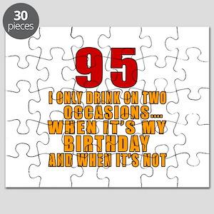 95 Birthday Designs Puzzle
