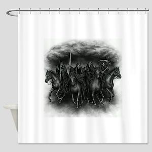 death crew Shower Curtain