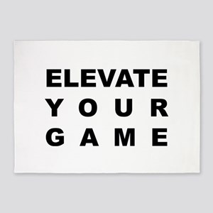 elevate your game 5'x7'Area Rug