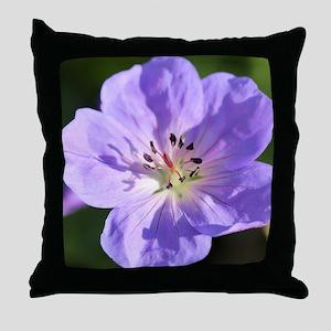 Geranium Throw Pillow