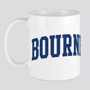 BOURNE design (blue) Mug