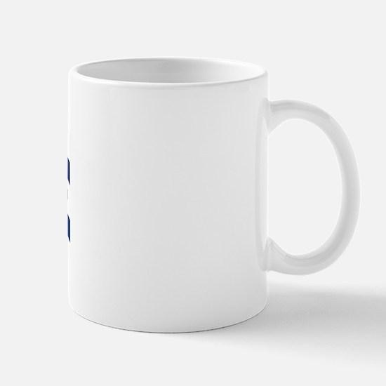 BOURNE design (blue) Mug