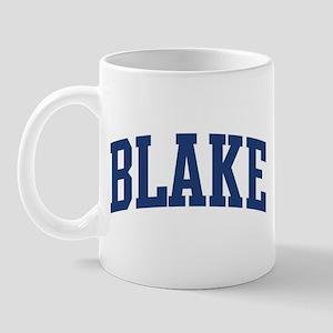 BLAKE design (blue) Mug