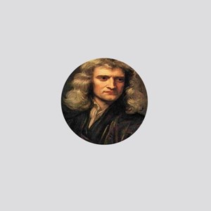 Isaac Newton Mini Button