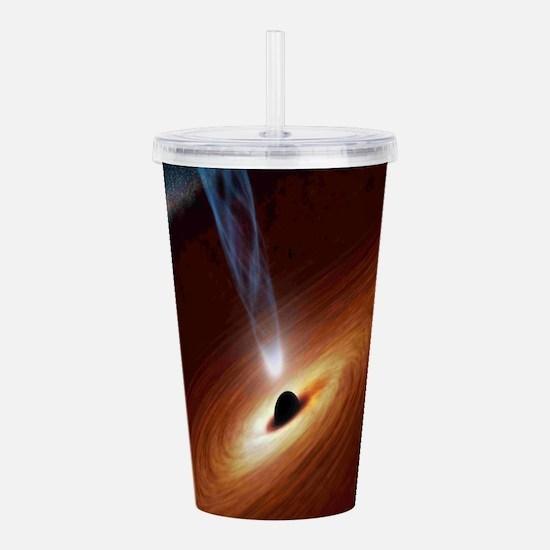 Black Hole Acrylic Double-wall Tumbler