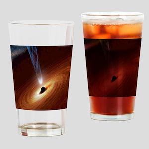 Black Hole Drinking Glass