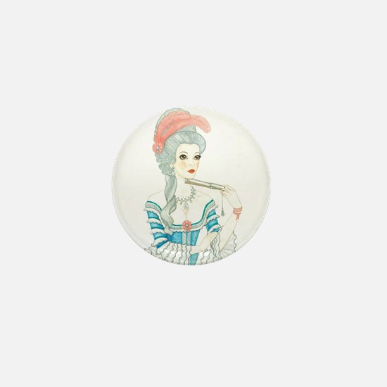 Marie Antoinette Mini Button