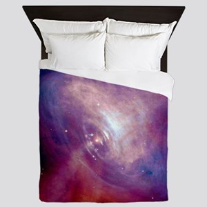 Crab Nebula Queen Duvet