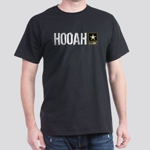U.S. Army: Hooah (Black) T-Shirt