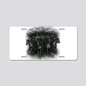 death crew Aluminum License Plate