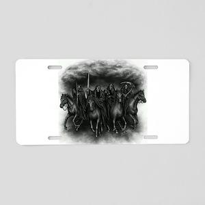 death crew Aluminum License Plate
