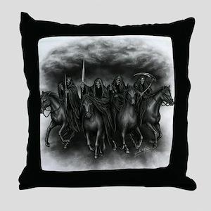 death crew Throw Pillow