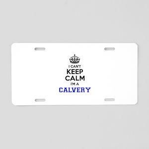 CALVERY I cant keeep calm Aluminum License Plate