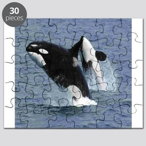 killer whales puzzles cafepress
