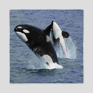 Killer Whales Queen Duvet