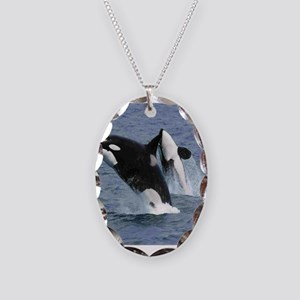 Killer Whales Necklace