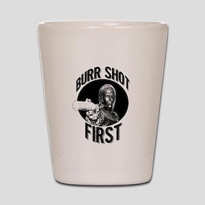 Burr Shot First Shot Glass